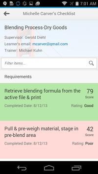 OJT Checklist apk screenshot