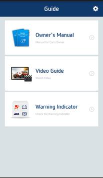 Hyundai Service Guide apk screenshot