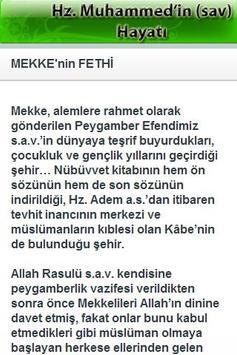 Hz. Muhammed'in Hayatı apk screenshot