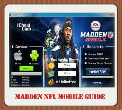 Guide And Madden Nfl Mobile poster