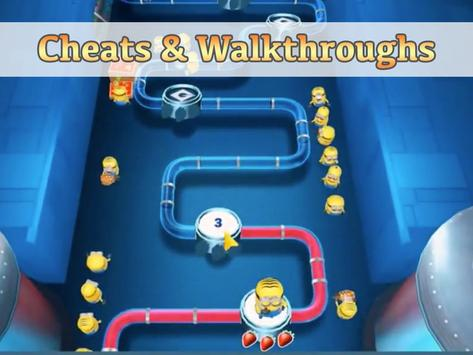 Cheats Minion Rush Hack Free apk screenshot