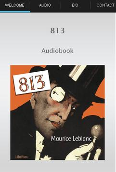813 Audiobook poster