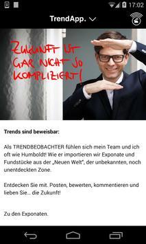 TrendApp. Der Trendbeobachter. poster