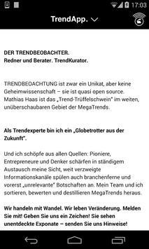 TrendApp. Der Trendbeobachter. apk screenshot
