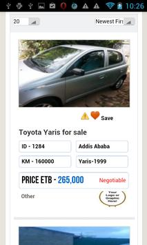Amharic Ethiopian ደላላ.com apk screenshot