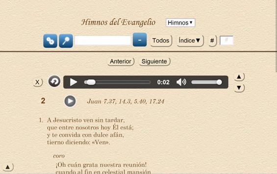 Himnos del Evangelio apk screenshot