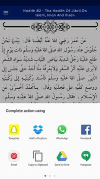 The Complete 40 Hadith apk screenshot