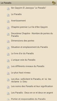 "Le Paradis  ""Ibn Qayyim"" apk screenshot"