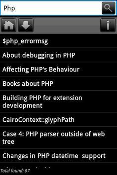 Dev Pocket Reference - PHP poster