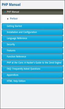 Dev Pocket Reference - PHP apk screenshot