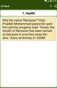 40 Hadith Ramadan apk screenshot