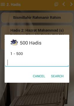 500 Hədis apk screenshot