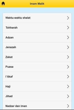 Imam Malik apk screenshot