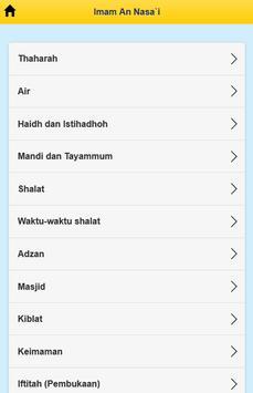Imam An Nasa'i apk screenshot