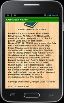 Hadist arba'in Nawawi apk screenshot