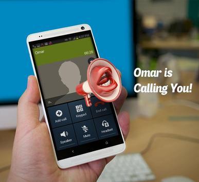 Incoming Caller Name Talker! apk screenshot
