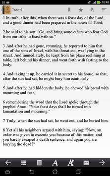 Catholic Bible apk screenshot