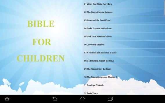 Bible Book For Children poster