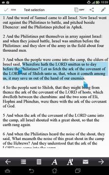 Bible (KJV) apk screenshot