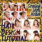 Hair Design Tutorial icon