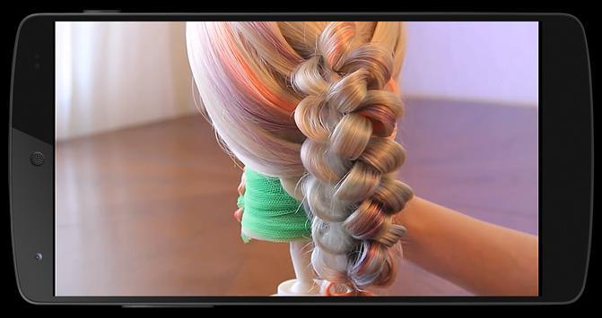 Плетение кос apk screenshot