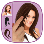 Women Hairstyle Changer icon