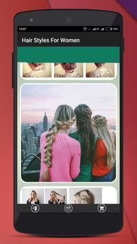 Hair Styles For Women apk screenshot