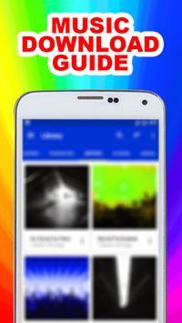 Downloader Music Mp3 Guide apk screenshot