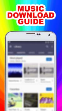 Mp3 Downloader Music Guide poster