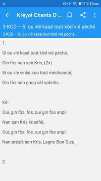 New Chant D'esperance apk screenshot