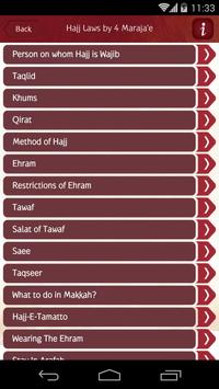 HAJJ GUIDE apk screenshot