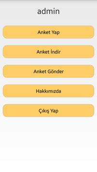 Anketör Takip Sistemi apk screenshot