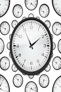 Date And Clock Display poster