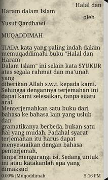 Halal dan Haram apk screenshot