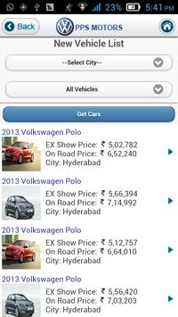 PPS Volkswagen apk screenshot