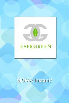 Evergreen CC poster
