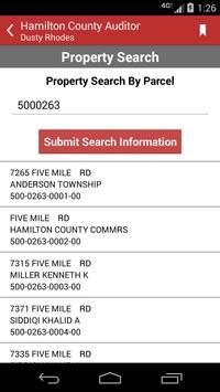 Hamilton County Auditor apk screenshot