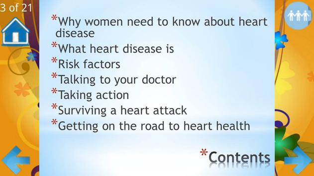 Heart Attack in Women apk screenshot