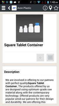 Catalog of Avon Plastic apk screenshot