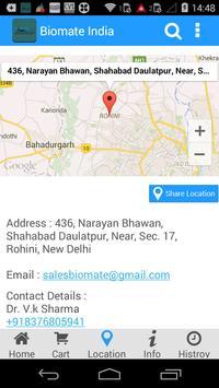Biomate India apk screenshot