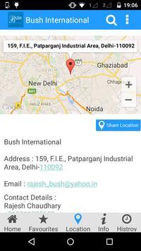 Bush International apk screenshot