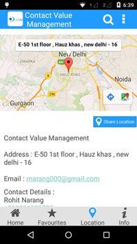 Contact Value Management apk screenshot