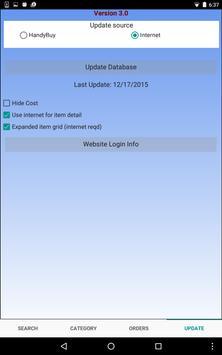 Handy Order App apk screenshot