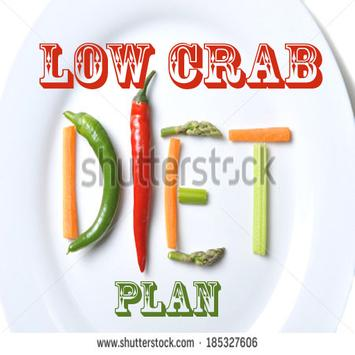 New Diet Low Crab Plan poster