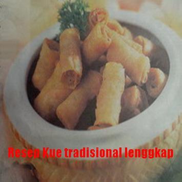 Resep Kue Tradisional Terbaru poster