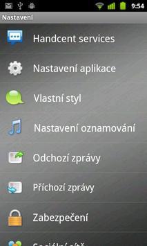 Handcent SMS Czech Language Pa apk screenshot