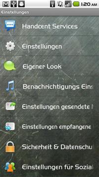 Handcent SMS Germany Language apk screenshot