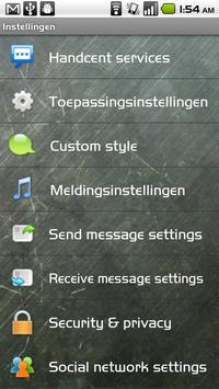 Handcent Dutch Language Pack apk screenshot