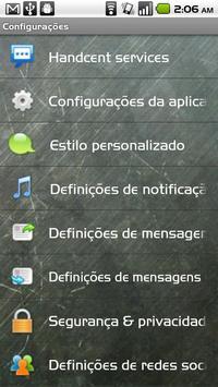 Handcent SMS Portuguese Langua apk screenshot