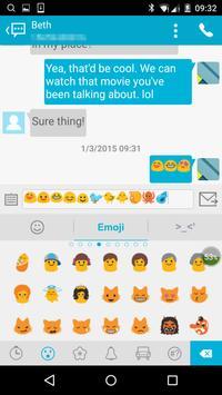 Handcent Emoji apk screenshot